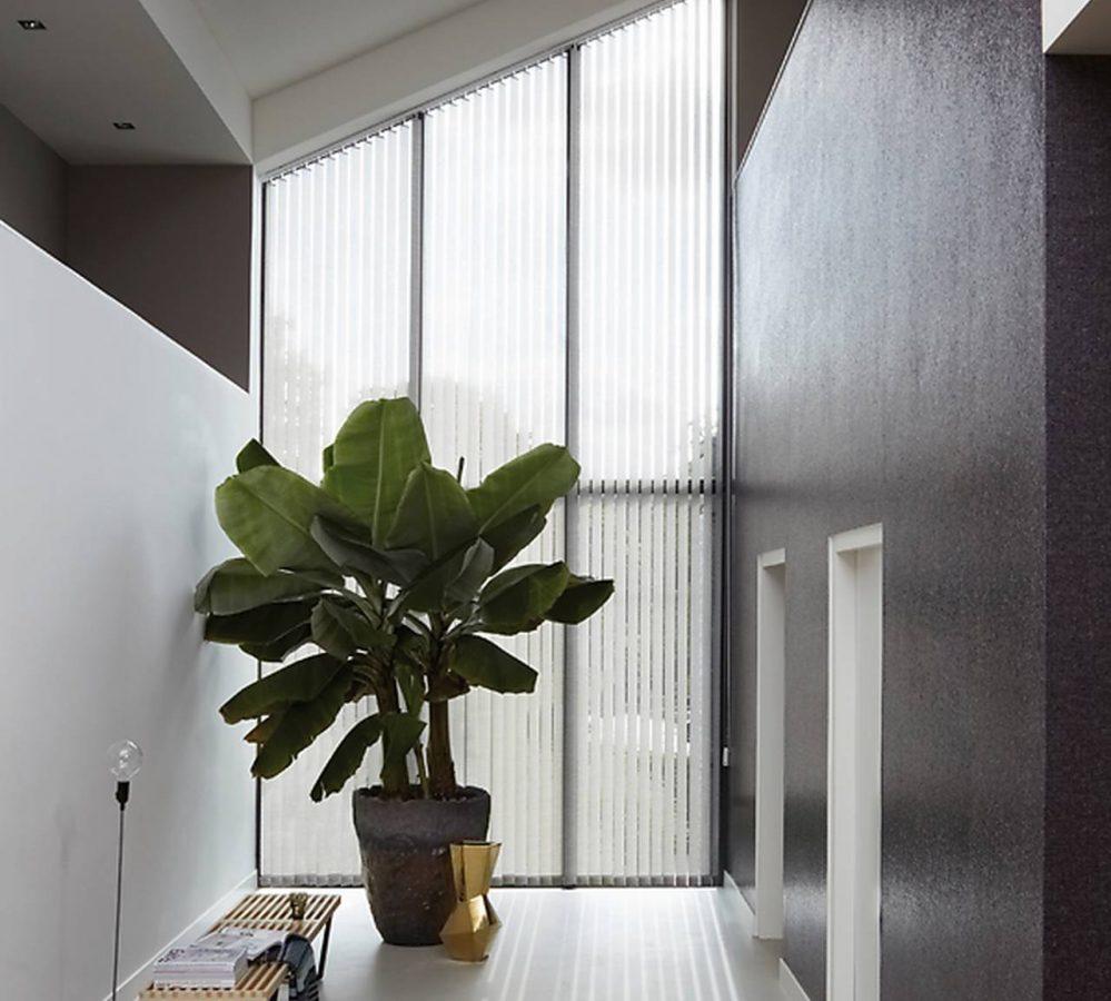Lamelgardiner inspiration til skrå vinduer